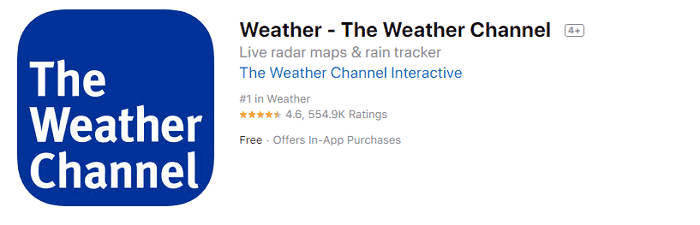 Weather-The Weather Channel