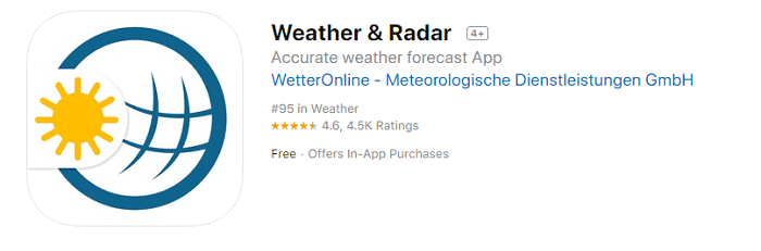 Weather and Radar