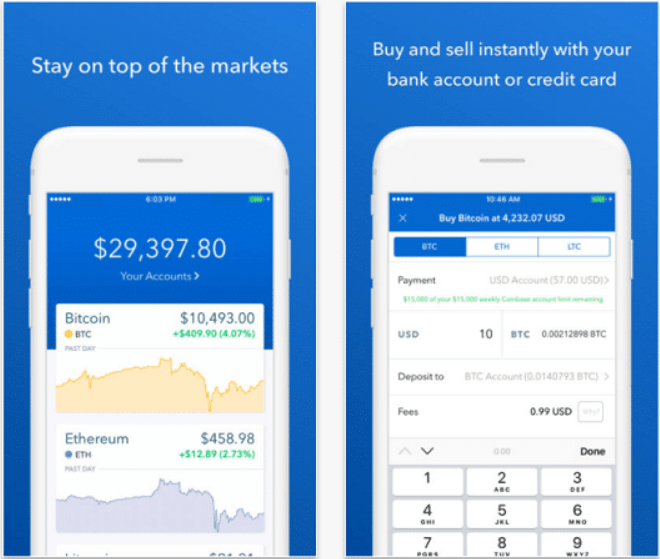 Coinbase telephone call for free cryptocurrency