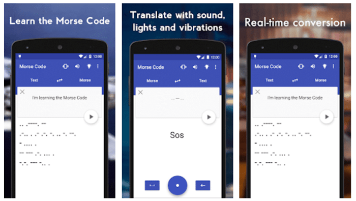 Morse Code Translator App by PixelCan