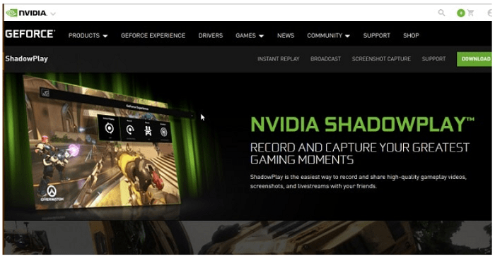 geforce shadowplay keeps turning off
