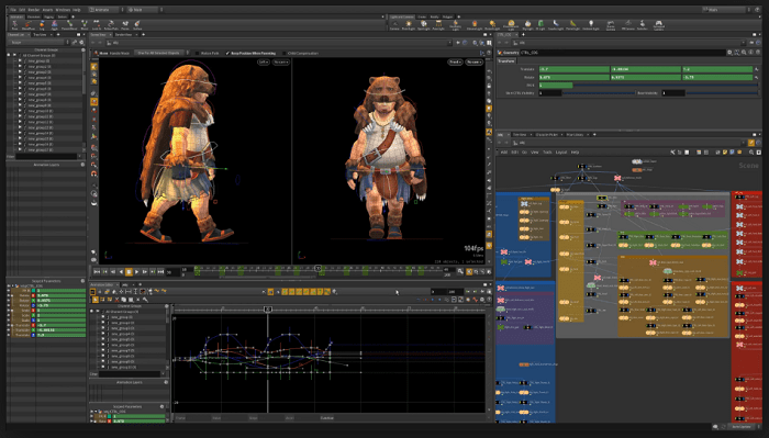 Houdini 3D animation software