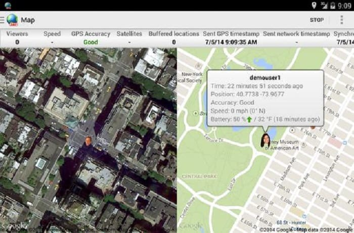 Real-time GPS Tracker by Greenalp