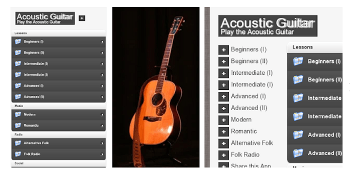 Accoustic Guitar Lessons