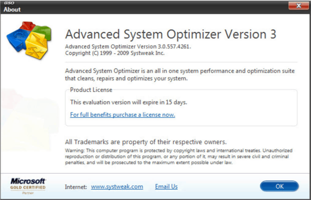 Advanced System Optimiser