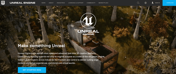 Unreal Engine Game Development Software