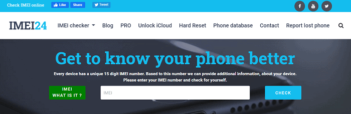 imei24 sprint imei checker tools