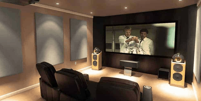 automatic home theatre