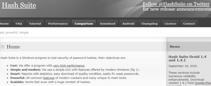 Hash Suite recovery tool