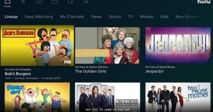 your hulu app is updated
